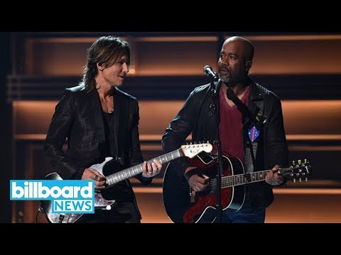 Keith Urban Steals the Show at 2017 CMAs | Billboard News