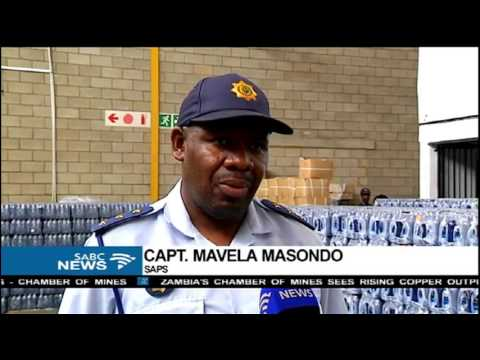 Fake bottled water has been uncovered in Johannesburg