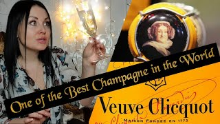 Veuve Clicquot - Yellow Label Champagne Brut /Madame Clicquot the first lady of a Champagne Empire/