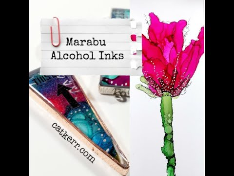 marabu-alcohol-inks-test-and-projects