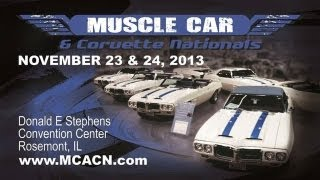 2013 Muscle Car and Corvette Nationals Preview V8TV Video