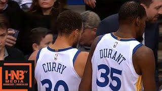 Golden State Warriors vs Dallas Mavericks 1st Half Highlights / Jan 3 / 2017-18 NBA Season