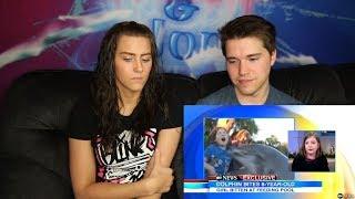 Dolphin Bites Girl at SeaWorld: Caught on Tape || REACTION
