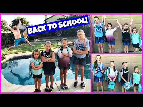 FIRST DAY OF SCHOOL MORNING ROUTINE | BACK TO SCHOOL