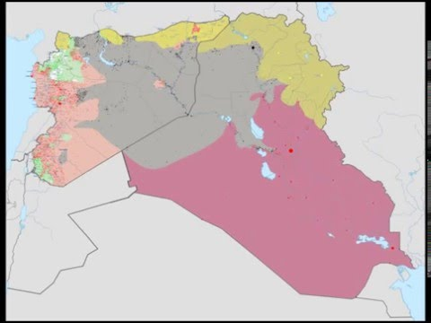 ISIS Wikipedia map  13 June 2014 -  30 August 2015
