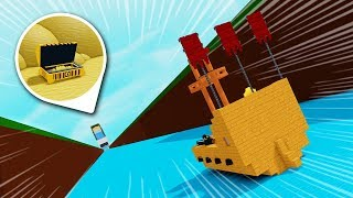 Build a Boat BUT THE WORLD IS A 999,999,999 FOOT SLIDE!