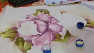Pintando uma rosa no Oxford branco – Parte2