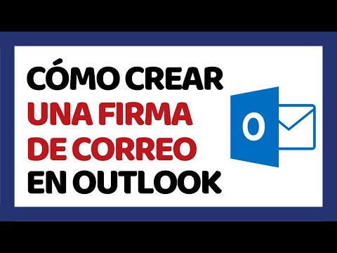 🔴 Cómo Crear una Firma de Correo en Outlook 2020 (Hotmail)