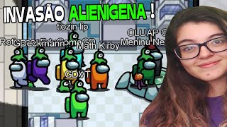 INVASÃO ALIENÍGENA no Among Us MIRA HQ Map