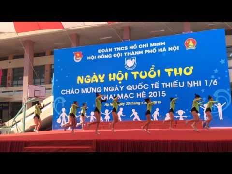Aerobic khai mạc hè 2015 - Cung thiếu nhi HN