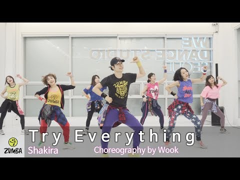 Try Everything(Zootopia) - Shakira / Choreography / ZIN / Wook's Zumba® Story / Wook