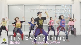 Try Everything(Zootopia) - Shakira / Easy Dance Fitness Choreography /Wook's Zumba® Story / Wook