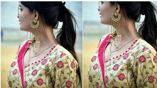 Latest Neck Designs For Kurti/ Suits And Churidars   Top Most Beautiful Neck Designs ideas - 2018-19