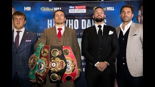 Usyk vs Bellew: Launch press conference