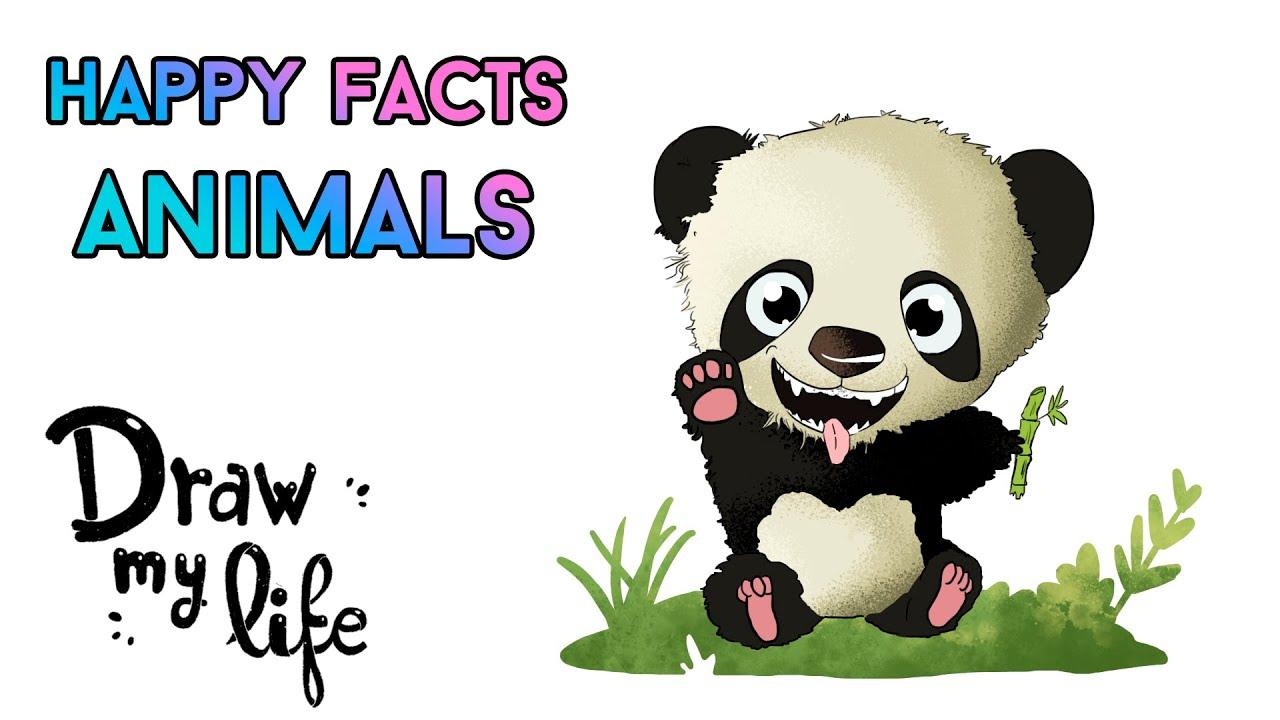 CURIOSIDADES sobre ANIMALES | Draw My Life en Español