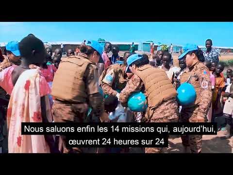 Les Nations Unies rendent hommage aux soldats de la paix