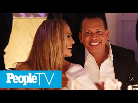 Jennifer Lopez & Alex Rodriguez's Engagement Party Was A Family Affair | PeopleTV from YouTube · Duration:  1 minutes 32 seconds