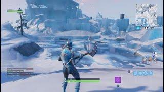 Slide ice-buck 150m Fortnite Battle Royal