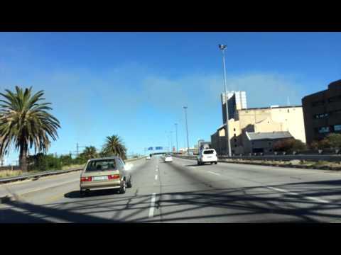 Entering Port Elizabeth South Africa