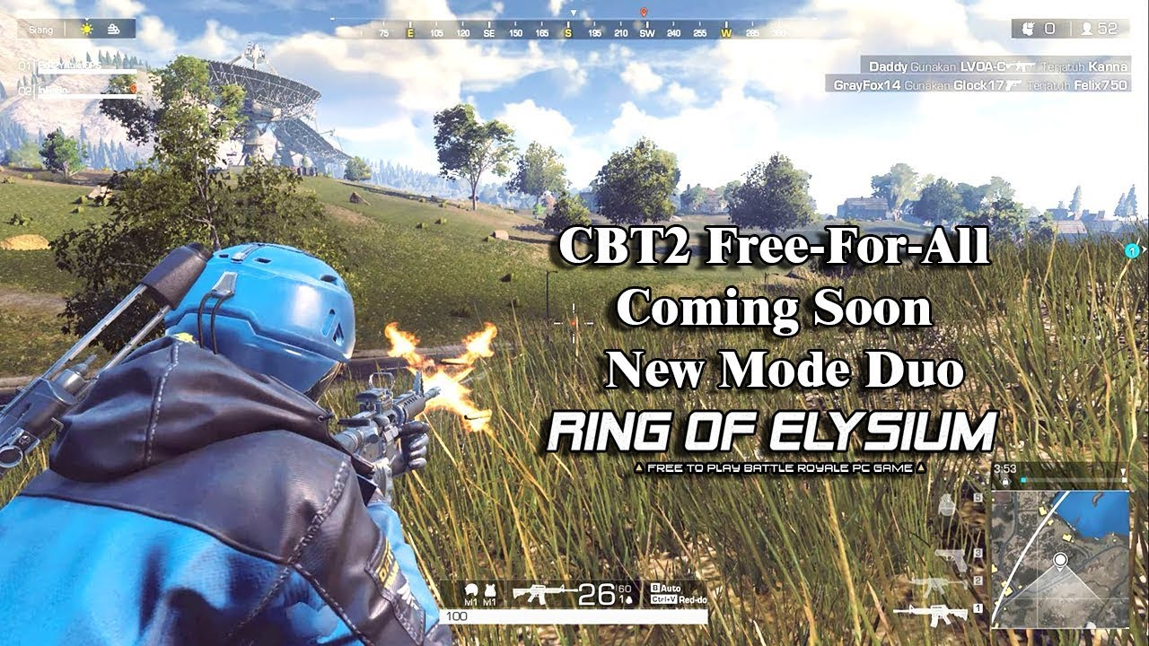 Ring Of Elysium (Europa) - Cbt 2 Free To All Coming Soon Vs New Duo Mode  Top1 Gameplay 1440p 60fps. Mmojackx57 28:07 HD -