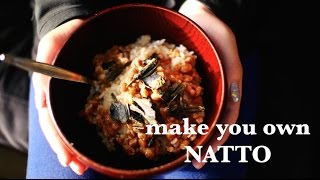 how to make natto - vegan recipe