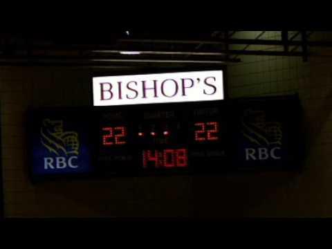 Bishop's University Gaiters vs Universite Laval Rouge et Or - February 24th 2012