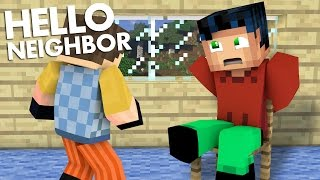 Minecraft Realistic : Hello Neighbor - Secret Underground Entrance
