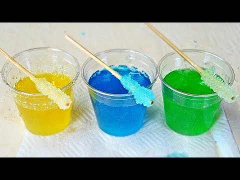 How to Make Rock Candy?
