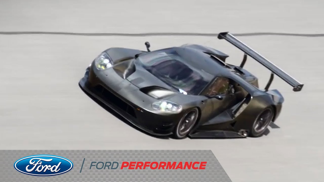 Fifty Seconds At Daytona Ford Gt Ford Performance