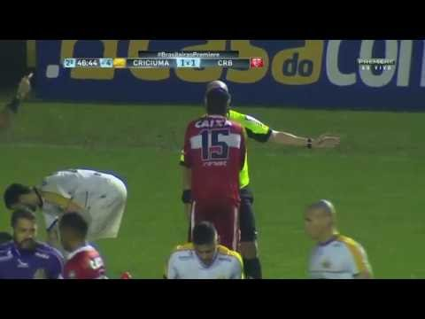 Criciúma 1 x 1 CRB - Brasileirão Série B 2016