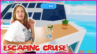 ESCAPING THE SINKING CRUISE!
