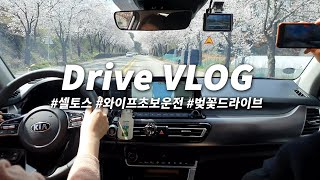 VLOG |  초보운전 와이프의 셀토스 운전 브이로그 …