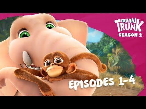 M&T Full Episodes S2 01-04 [Munki And Trunk]