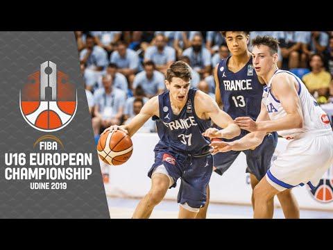 Italy v France - Full Game - FIBA U16 European Championship 2019