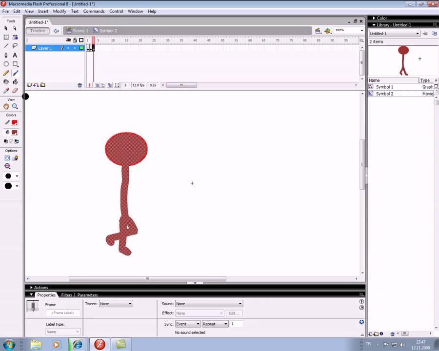 flash dersleri yürüyen adam animasyonu | Doovi