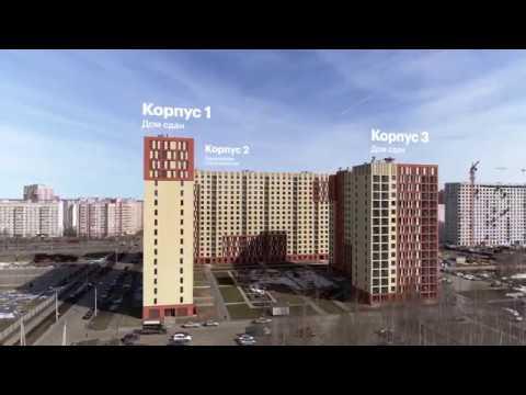 Стройка ЖК Волга-Парк в Ярославле