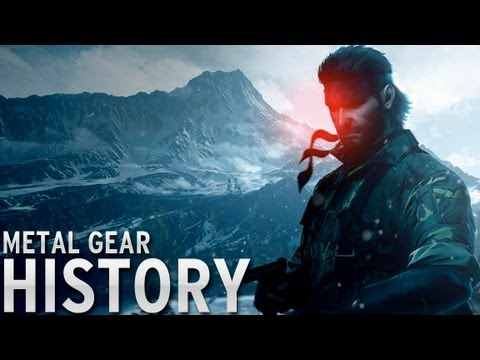 History of Metal Gear 19872013 YouTube