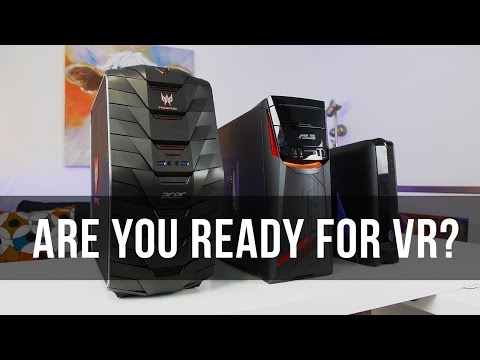 The Best Gaming PCs for the Oculus Rift and HTC Vive (Under $2000)
