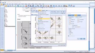 Creating and Interpreting a Scatterplot Matrix in SPSS