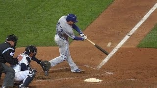 Lawrie crushes a grand slam to left field