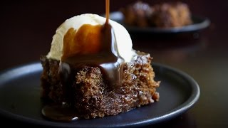 Sticky Toffee Pudding Recipe - HOLIDAY FOODIE COLLAB