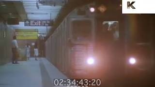1987 New York City Subway Platform