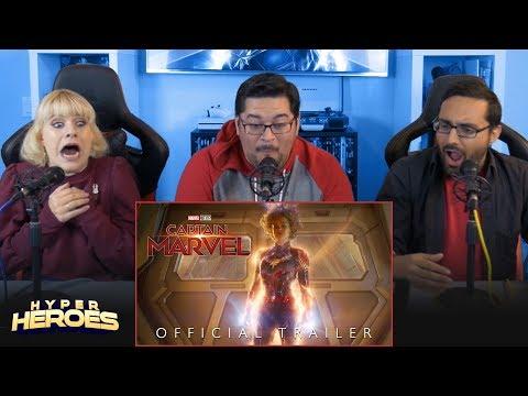 Marvel Studios' Captain Marvel - Trailer 2 Reaction