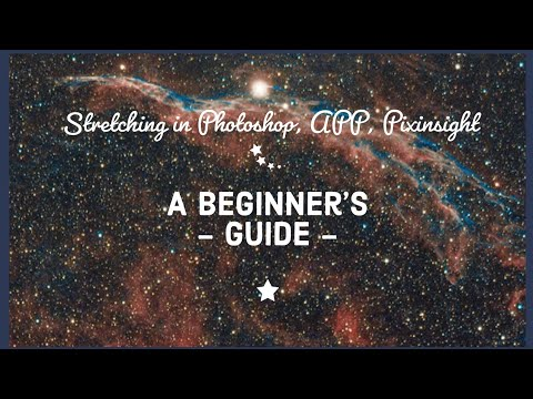 Basic Stretching In Photoshop, Astro Pixel Processor And Pixinsight