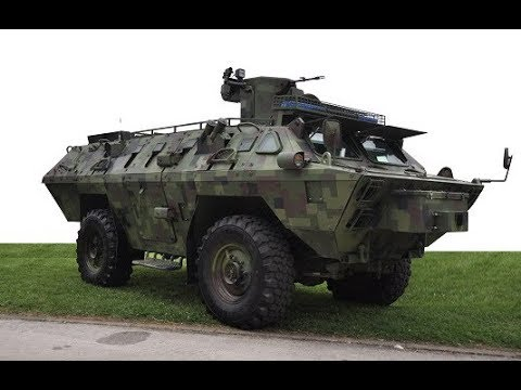Novi vojno-policijski BOV M15 - New Serbian APC BOV M15