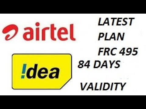 aiRtel and iDea plans 495 | JIO effect | UNLIMITED CALLS |