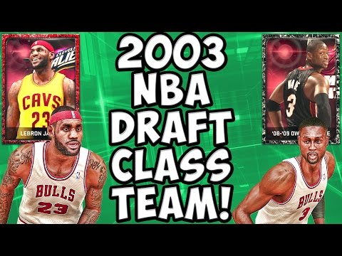 2003 NBA Draft Class - NBA 2K15 MyTeam - Ruby LeBron James & Onyx Dwyane Wade