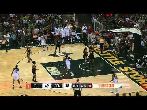 WNBA Recap: Tulsa Shock vs Seattle Storm