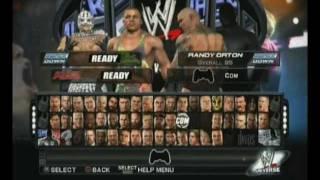 WWE SmackDown Vs. Raw 2011 RVD & Rey Mysterio Vs. Sting & Sin Cara