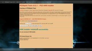 TUTO FR PS3XPLOIT 4.84 INSTALLER LE HAN SUR TOUTES PS3 OFW